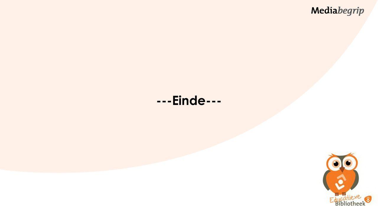 ---Einde---