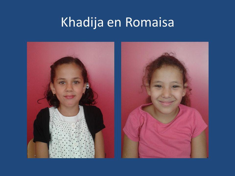 Khadija en Romaisa