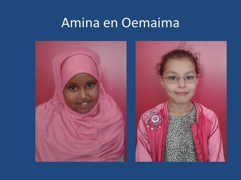 Amina en Oemaima