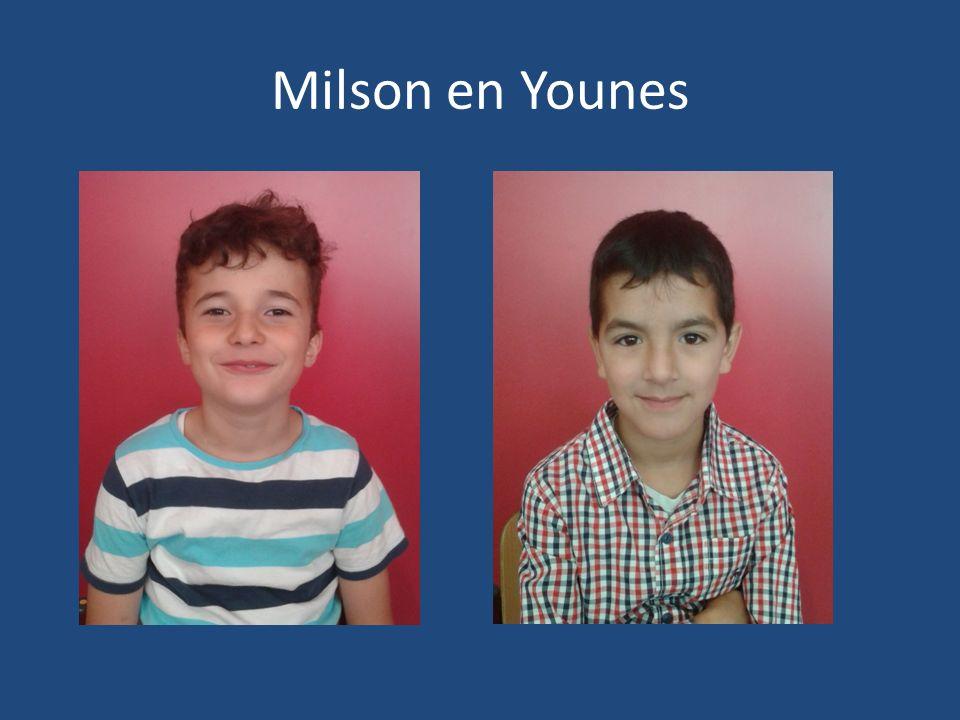 Milson en Younes