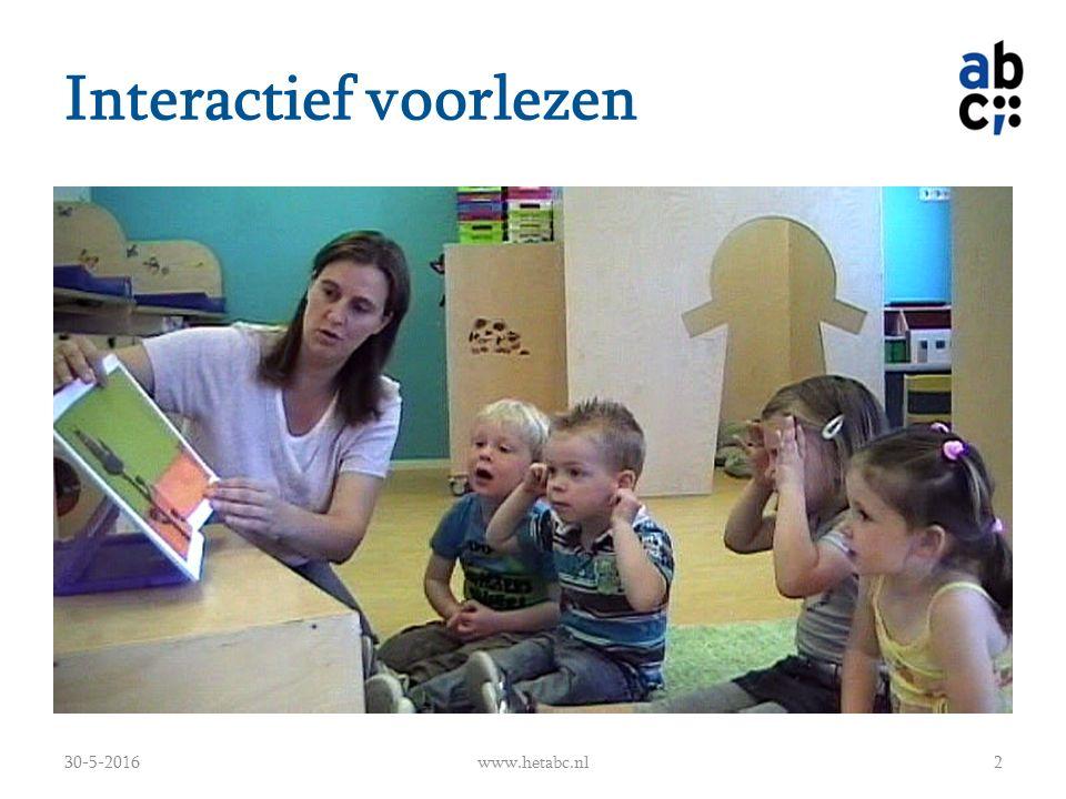 Interactief voorlezen 30-5-2016www.hetabc.nl2