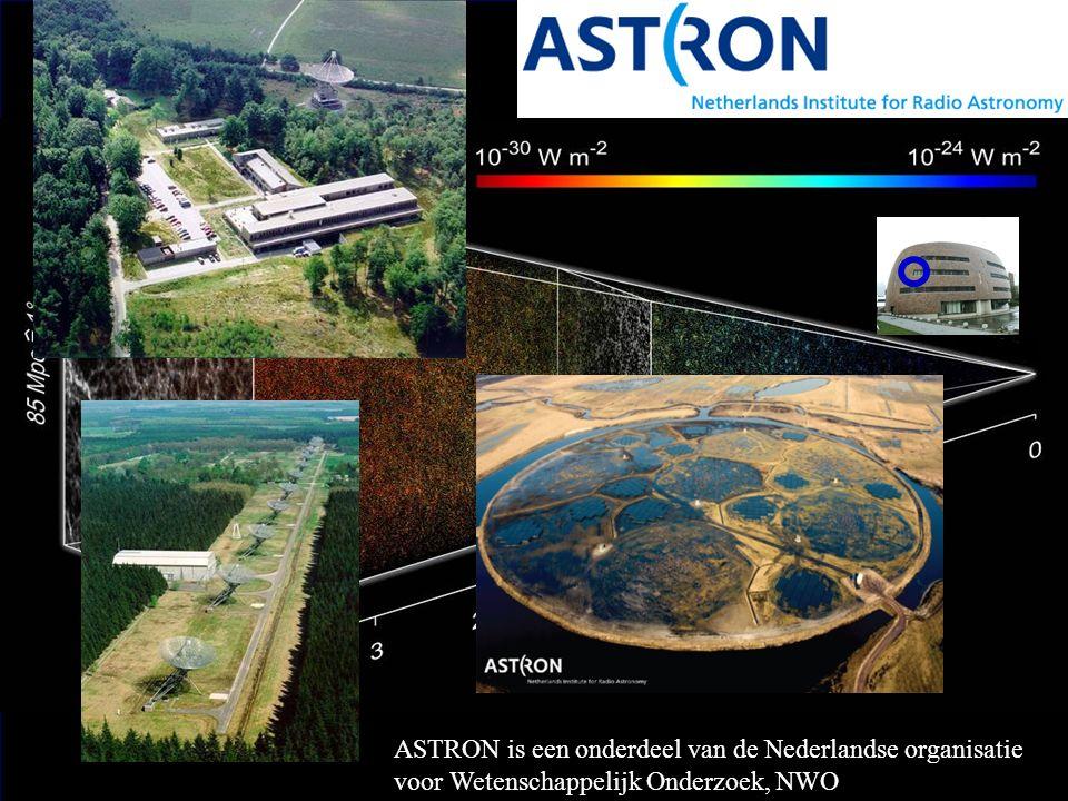 ASTRON is een onderdeel van de Nederlandse organisatie voor Wetenschappelijk Onderzoek, NWO