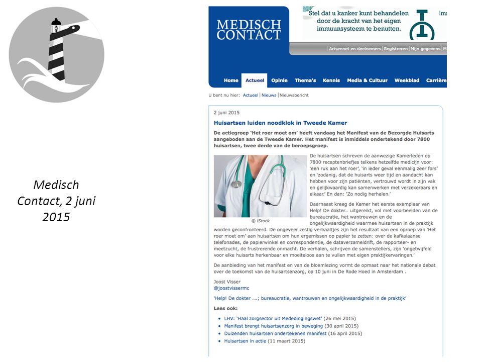 Medisch Contact, 2 juni 2015