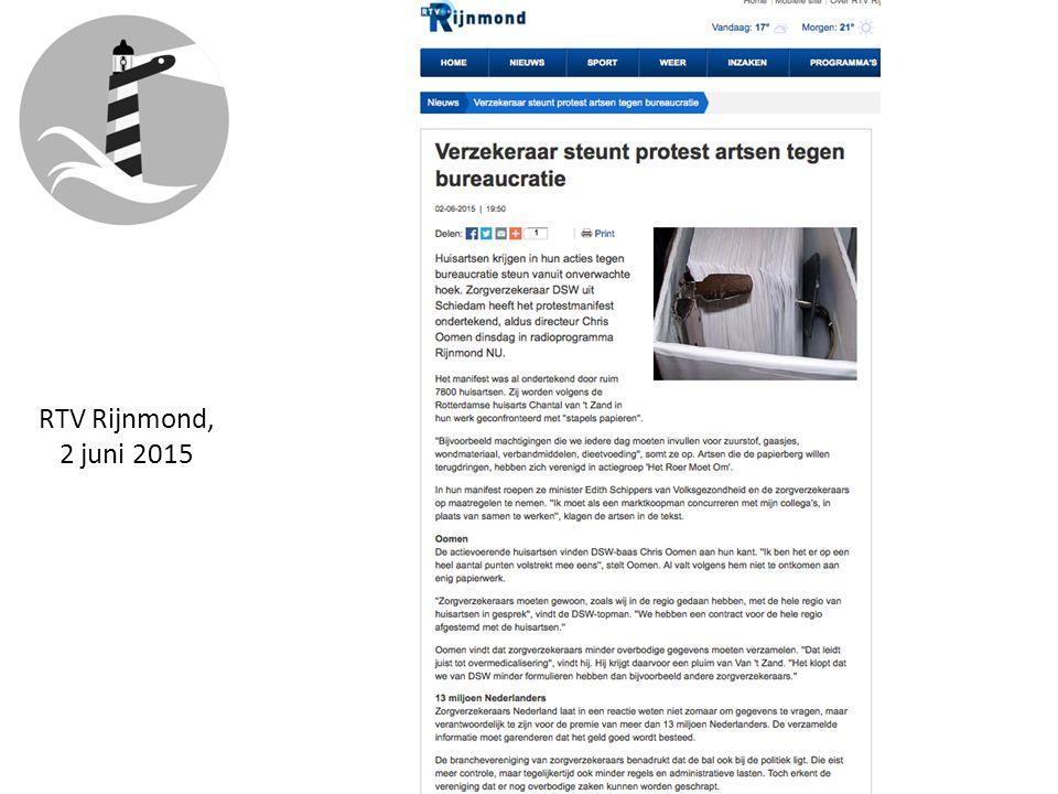 RTV Rijnmond, 2 juni 2015