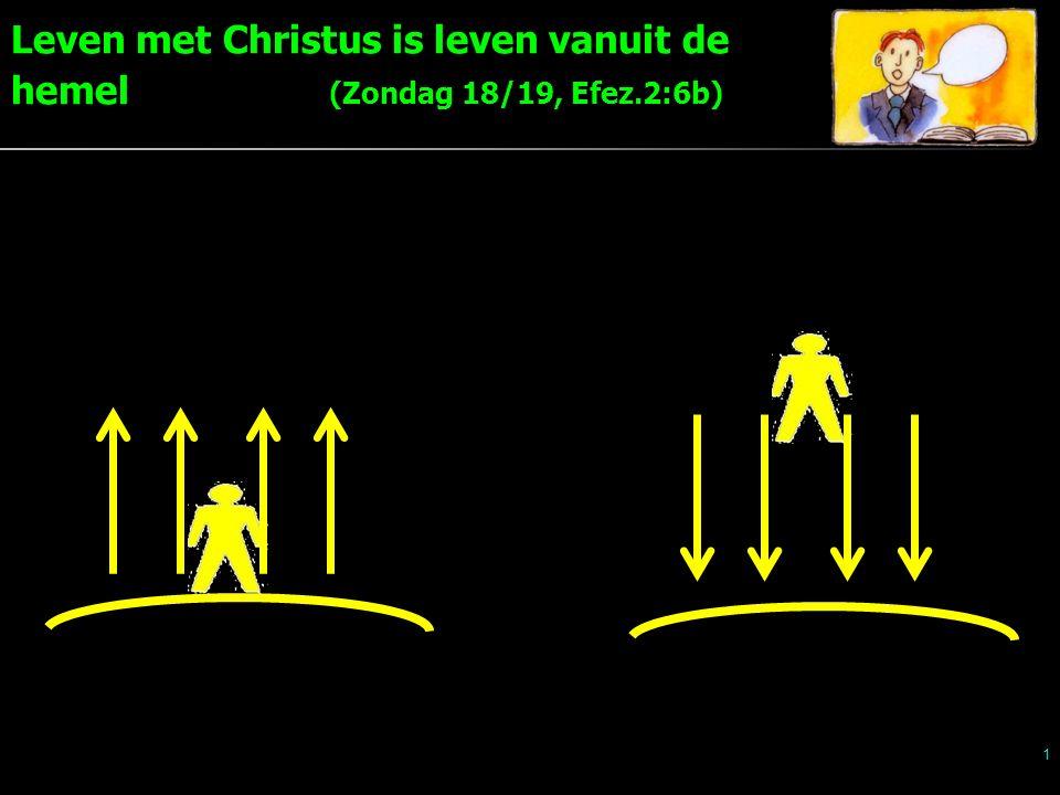 Leven met Christus is leven vanuit de hemel (Zondag 18/19, Efez.2:6b) 1