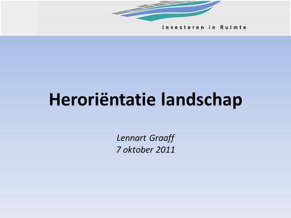Heroriëntatie landschap Lennart Graaff 7 oktober 2011