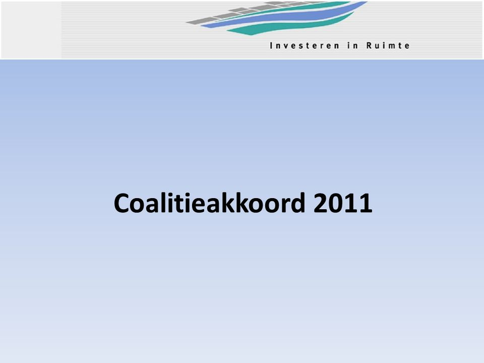 Coalitieakkoord 2011