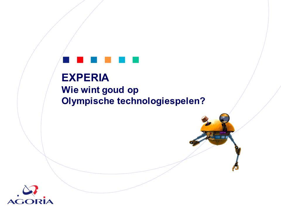            EXPERIA Wie wint goud op Olympische technologiespelen