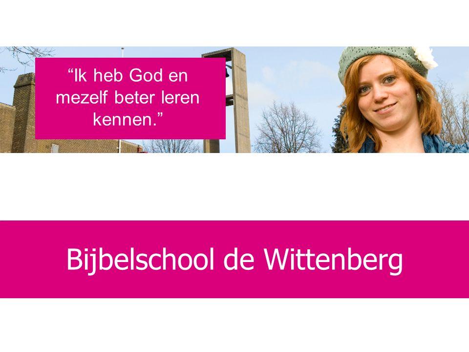 Bijbelschool voor het leven Al ruim 40 jaar een school voor: persoonlijke vorming bijbelse verdieping missionaire toerusting