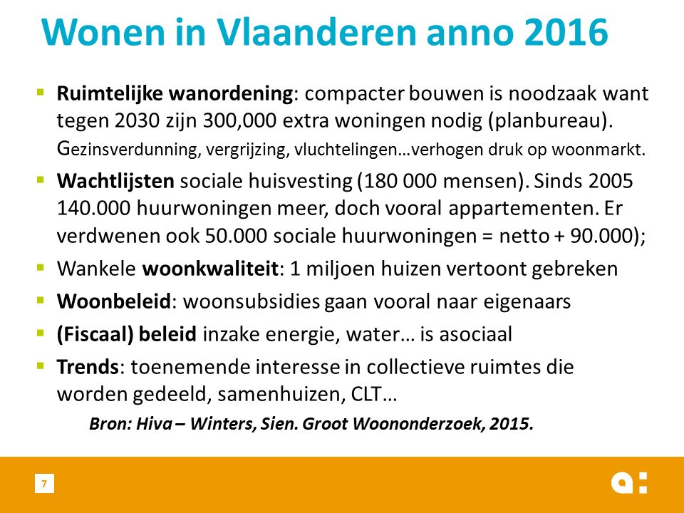  Ondersteuning sociale huurders: noodzaak aan voldoende juridische kennis (o.a.
