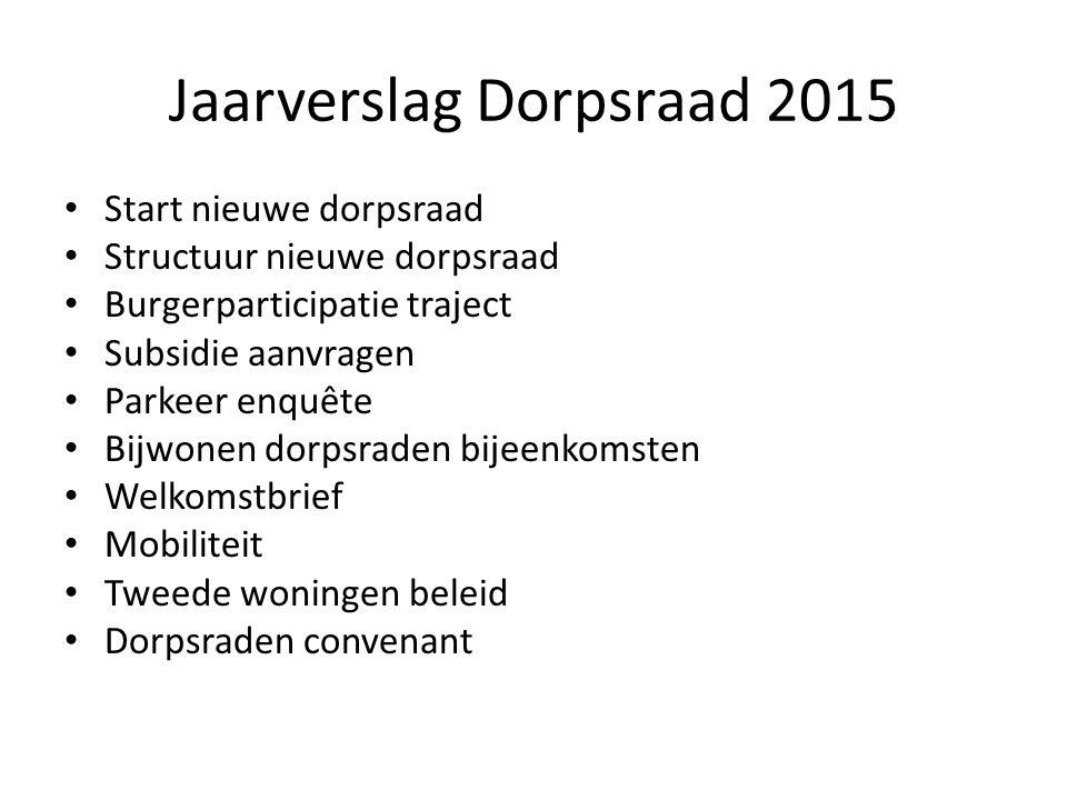 Financieel jaarverslag 2015