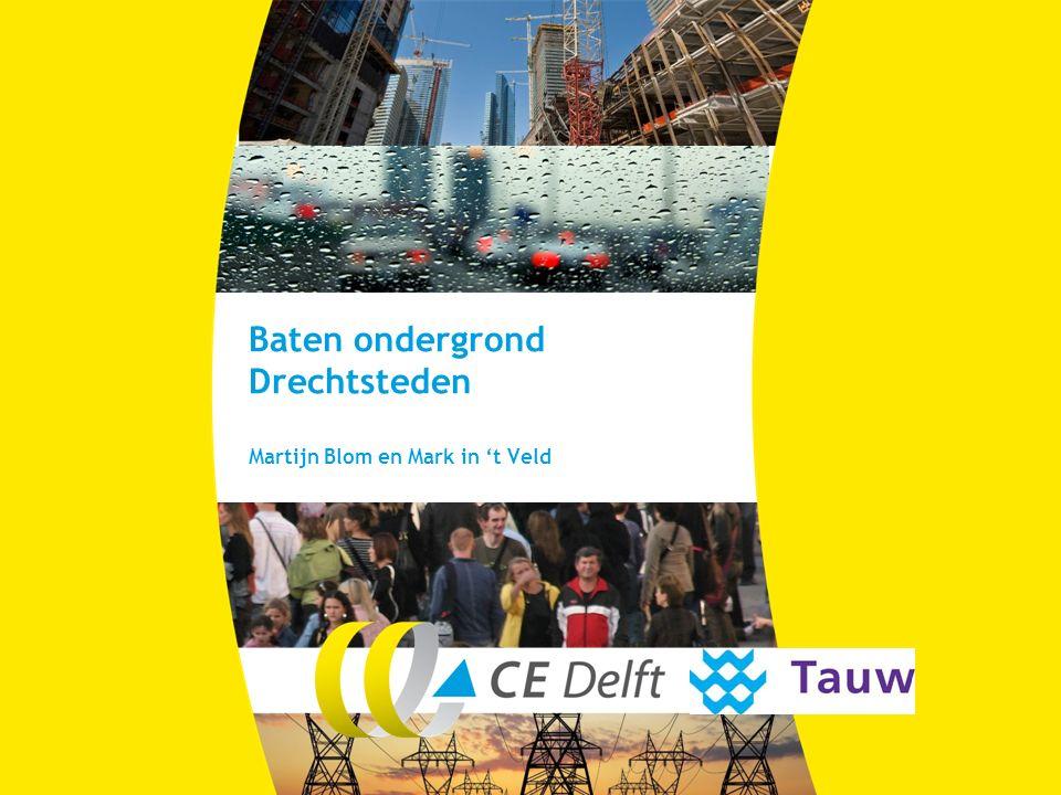 Baten ondergrond Drechtsteden Martijn Blom en Mark in 't Veld