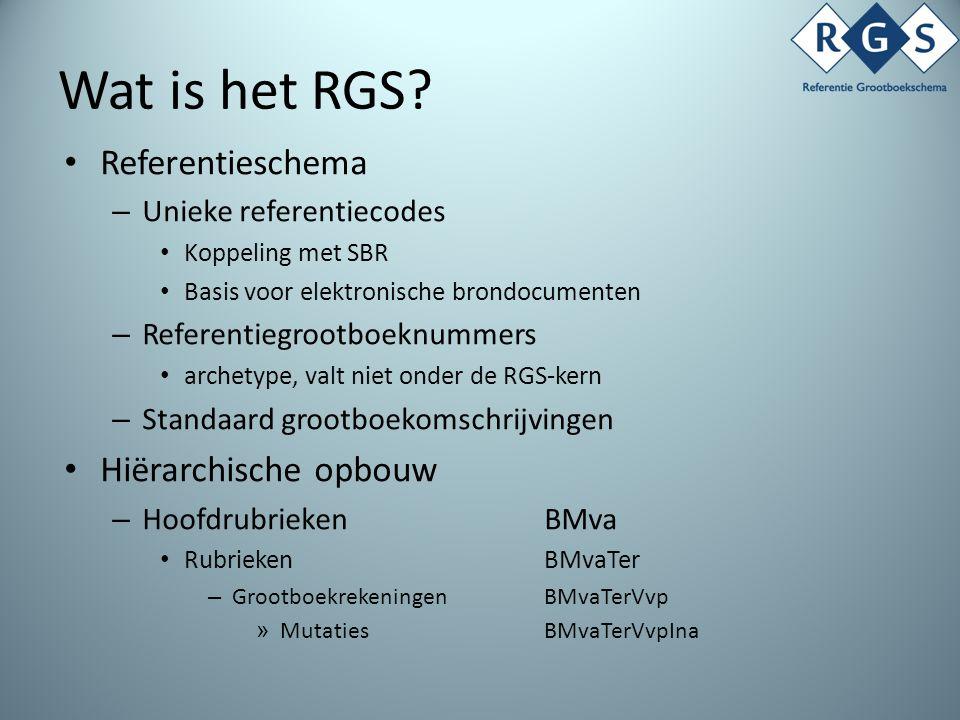 Wat is het RGS.