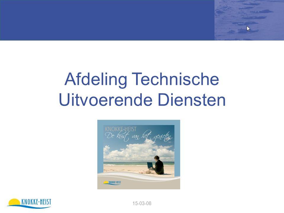 15-03-08 Afdeling Technische Uitvoerende Diensten