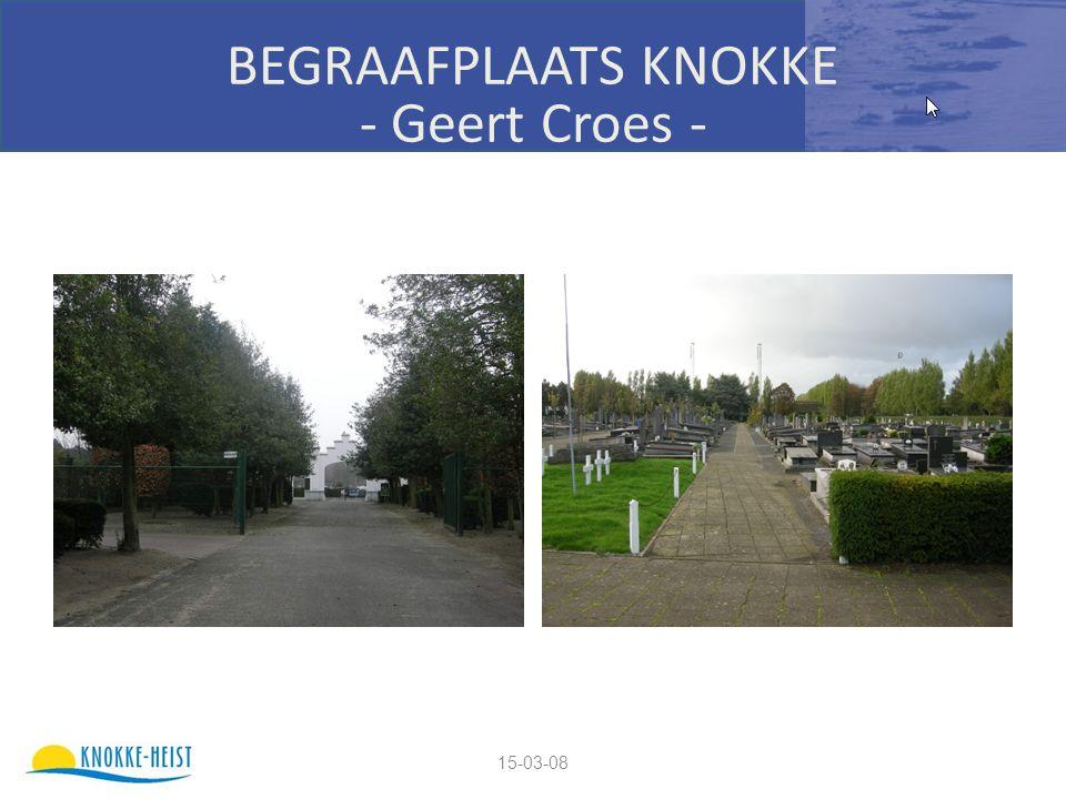 15-03-08 BEGRAAFPLAATS KNOKKE - Geert Croes -