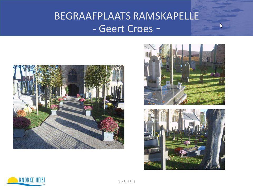 15-03-08 BEGRAAFPLAATS RAMSKAPELLE - Geert Croes -