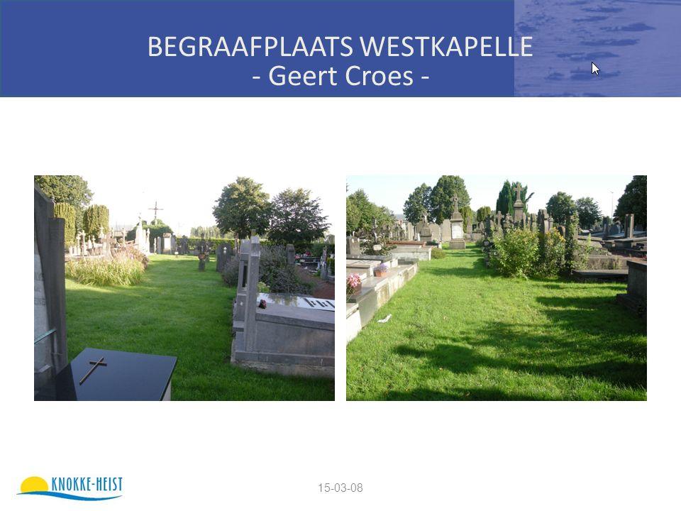15-03-08 BEGRAAFPLAATS WESTKAPELLE - Geert Croes -