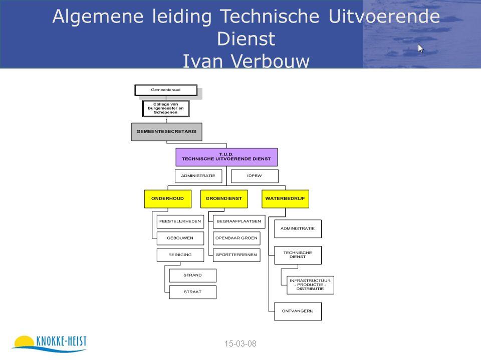 15-03-08 Algemene leiding Technische Uitvoerende Dienst Ivan Verbouw