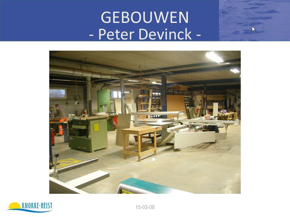 15-03-08 GEBOUWEN - Peter Devinck -