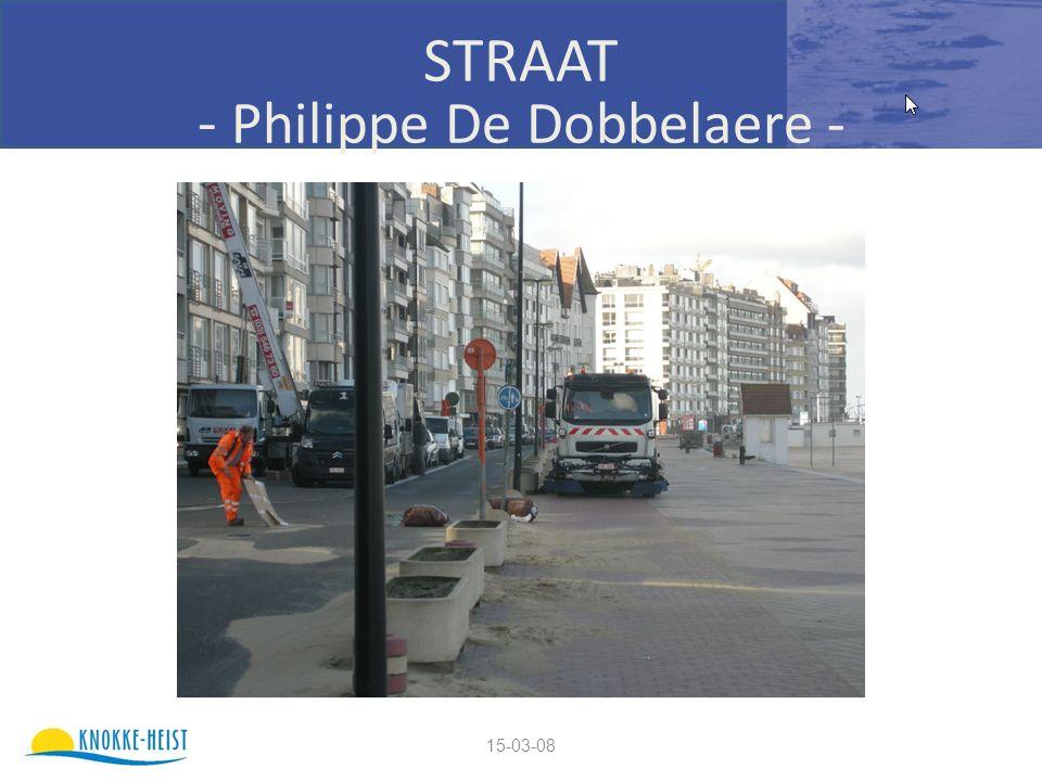 15-03-08 STRAAT - Philippe De Dobbelaere -