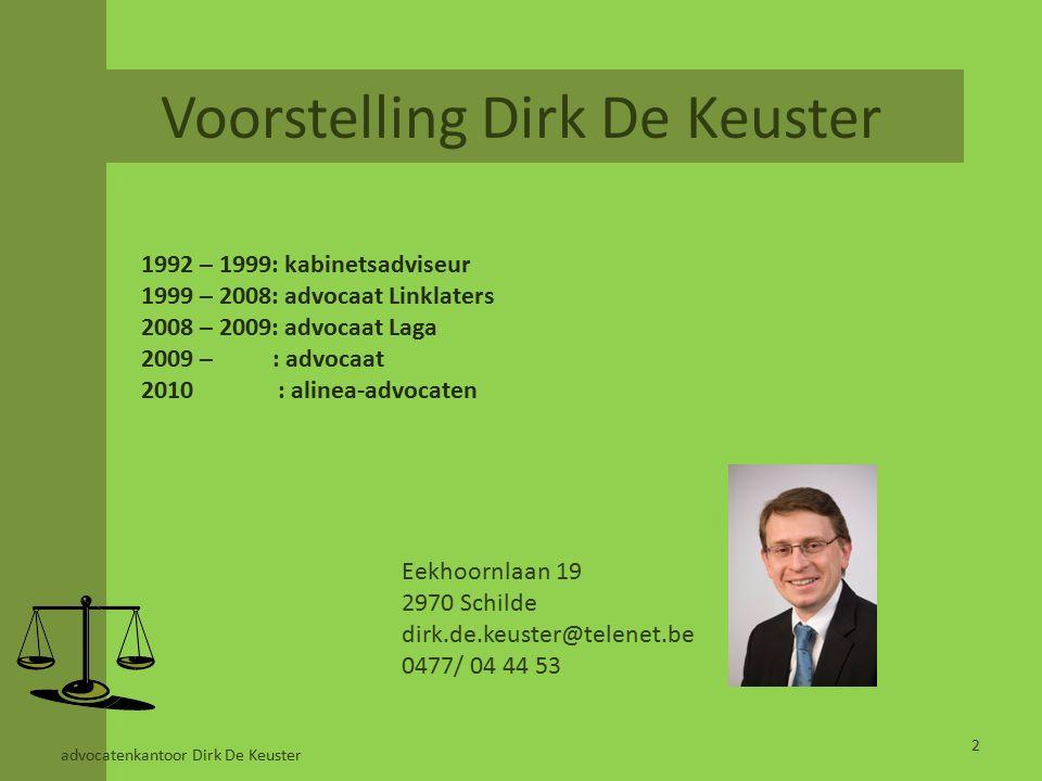 PPS EN SPORTINFRASTRUCTUUR DEEL III – DBFM(O) STRUCTUUR IN HET VLAAMS SPORTINFRASTRUCTUURPLAN 23advocatenkantoor Dirk De Keuster