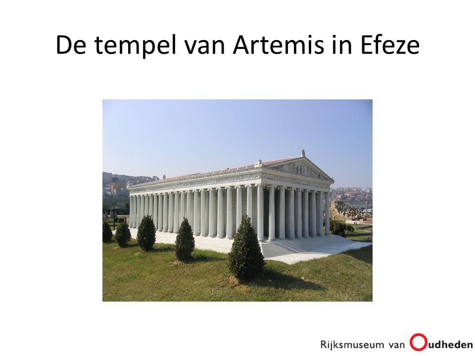 De tempel van Artemis in Efeze
