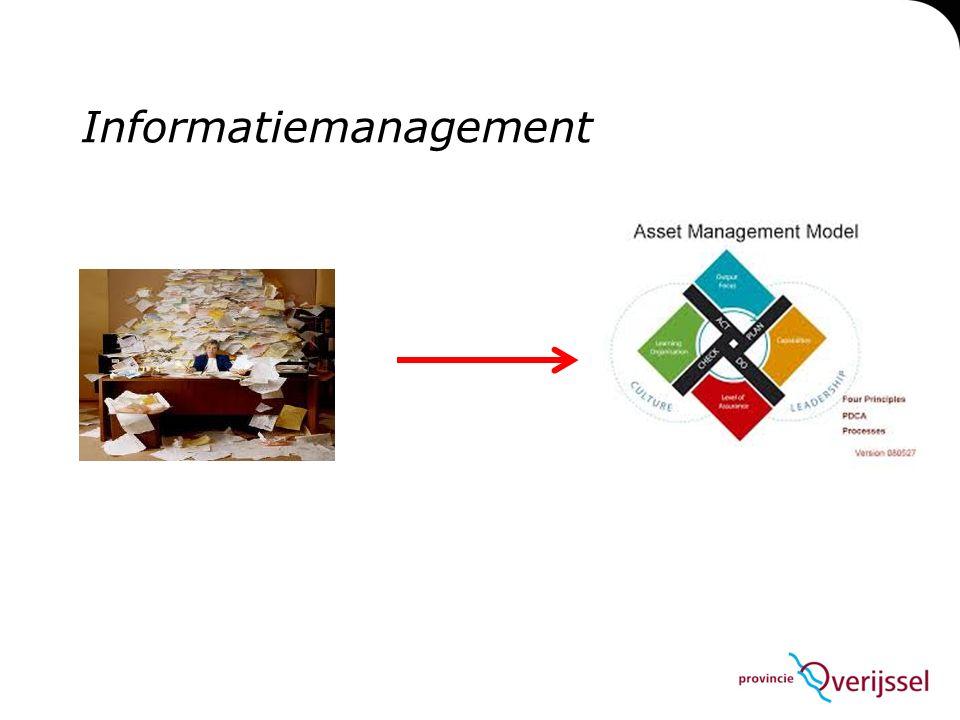 Verantwoordelijkheid betreft informatie kan volgens het 9 fasen model belegd worden.