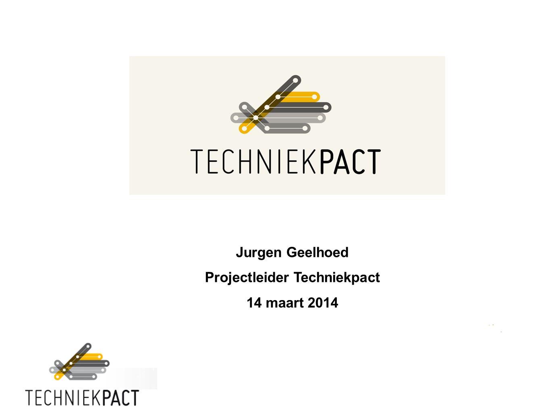 Jurgen Geelhoed Projectleider Techniekpact 14 maart 2014