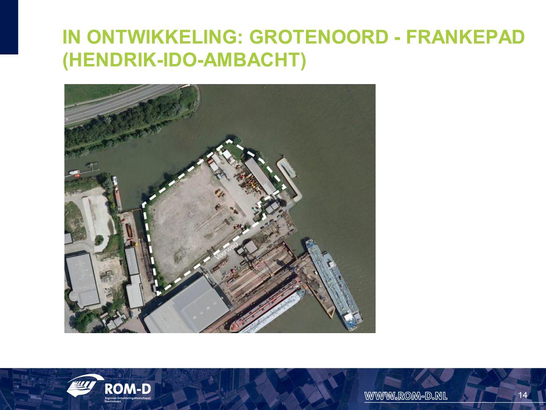14 IN ONTWIKKELING: GROTENOORD - FRANKEPAD (HENDRIK-IDO-AMBACHT)