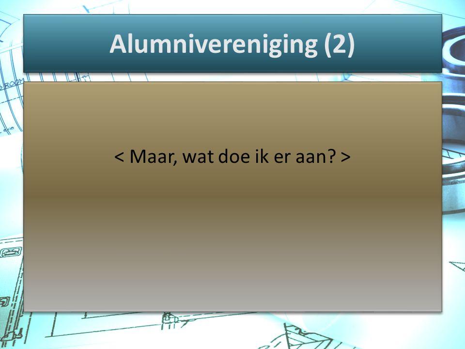 Alumnivereniging (2)