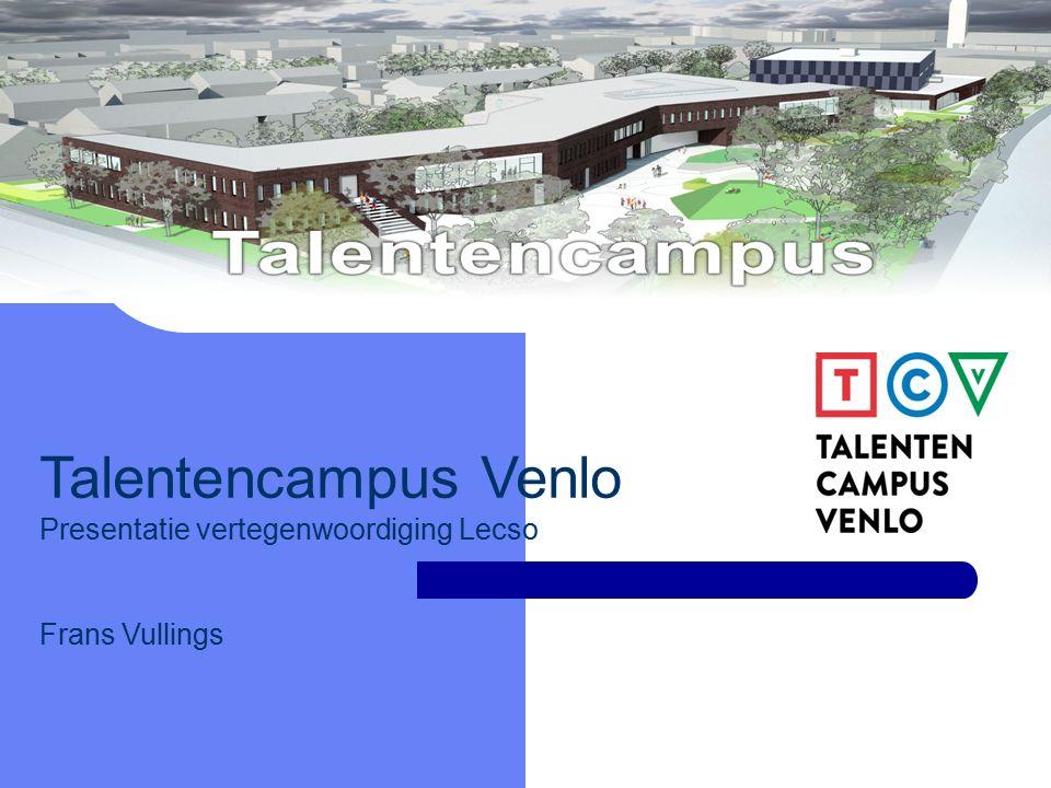 TALENTENCAMPUS Talentencampus Venlo Presentatie vertegenwoordiging Lecso Frans Vullings