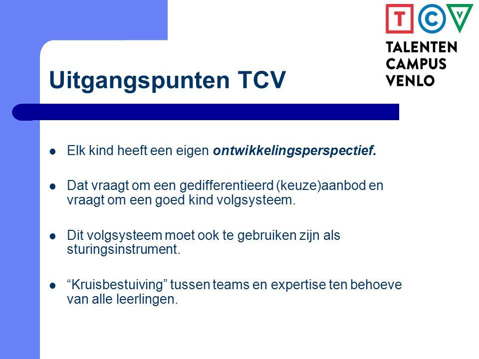 Van eiland naar passend arrangeren Samenwerking binnen de TCV