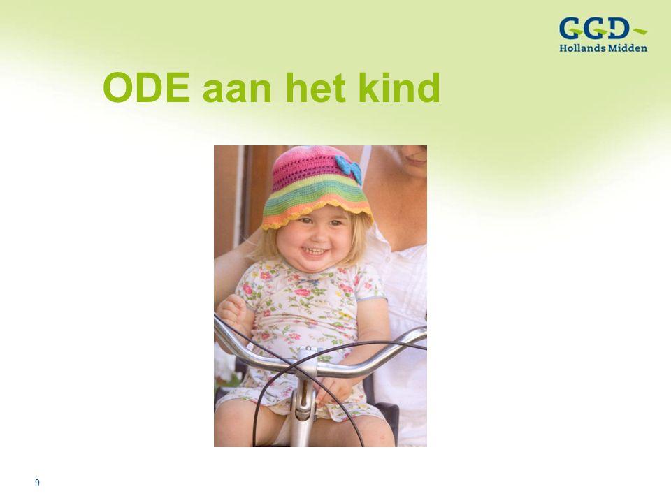 9Titel van de presentatie03-08-2006 ODE aan het kind