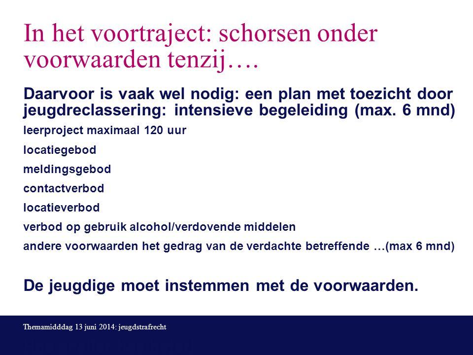 Bron: factsheet jeugdbescherming en jeugdreclassering in Gelderland, mei 2014 Wanneer OTS en wanneer JR of toch beide?