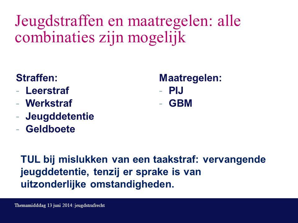 Adolescentenstrafrecht per 1 april 2014 Filmpje van 3 minuten: de hoofdlijnde hoofdlijn Themamidddag 13 juni 2014: jeugdstrafrecht Bron filmpje: www.wegwijzerjeugdenveiligheid.nl