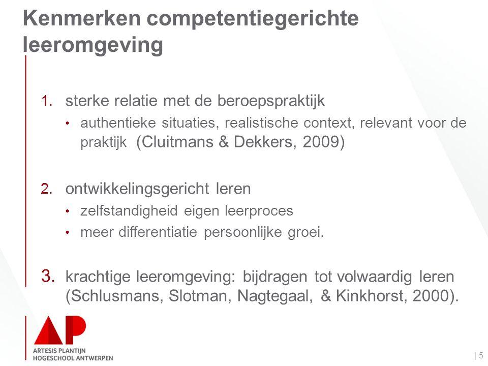 Kenmerken competentiegerichte leeromgeving | 5 1.