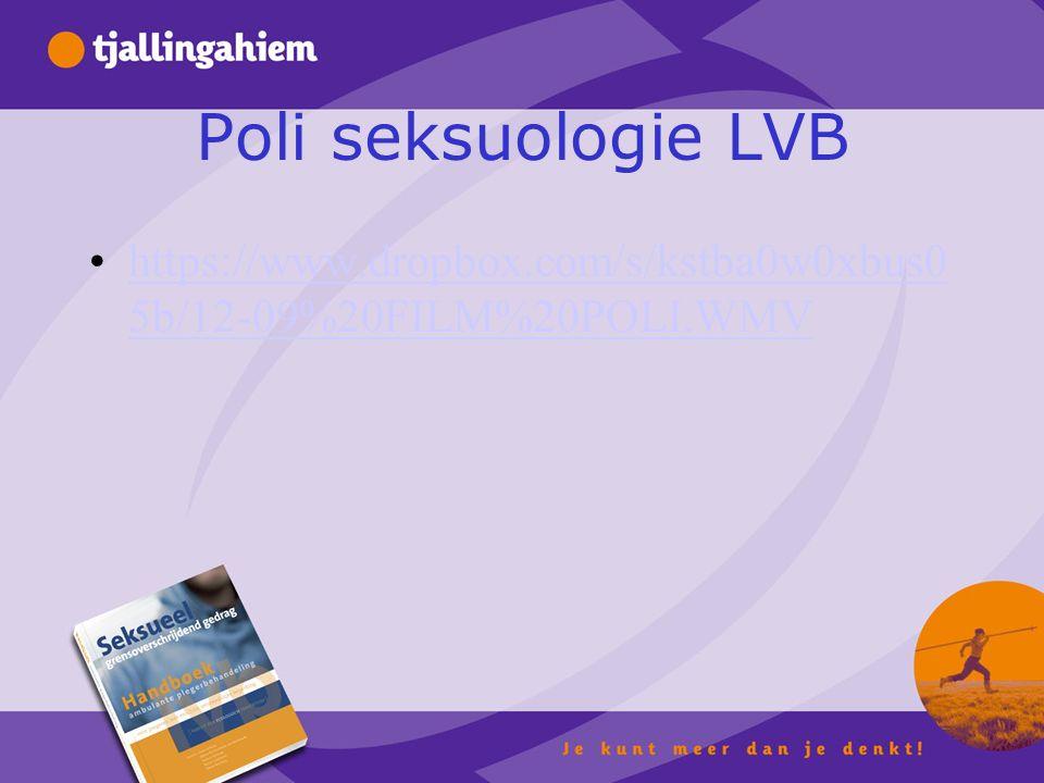 Poli seksuologie LVB https://www.dropbox.com/s/kstba0w0xbus0 5b/12-09%20FILM%20POLI.WMVhttps://www.dropbox.com/s/kstba0w0xbus0 5b/12-09%20FILM%20POLI.WMV
