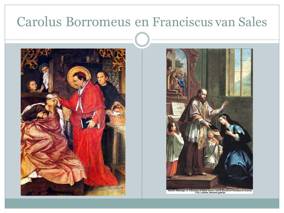 Carolus Borromeus en Franciscus van Sales