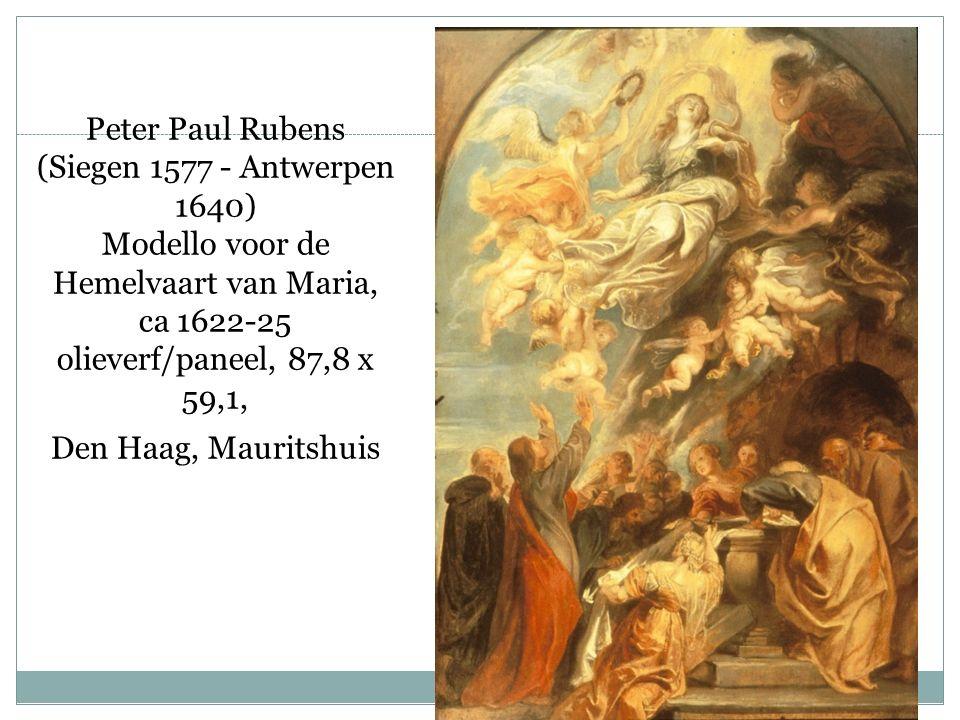 Peter Paul Rubens (Siegen 1577 ‑ Antwerpen 1640) Modello voor de Hemelvaart van Maria, ca 1622 ‑ 25 olieverf/paneel, 87,8 x 59,1, Den Haag, Mauritshuis