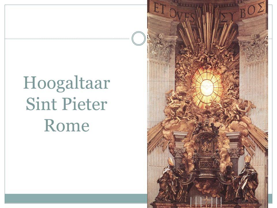 Hoogaltaar Sint Pieter Rome