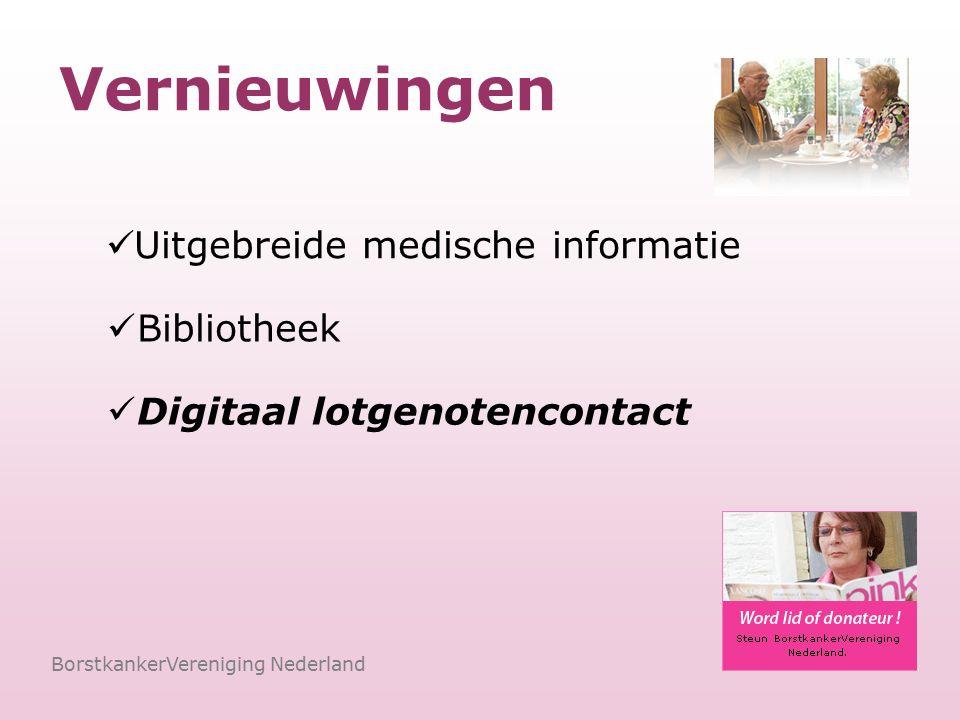 Extra bij Specialistenchat BorstkankerVereniging Nederland Beantwoorden medische vragen Datum en tijd Vertrouwen Persoonlijk advies krijgen Direct