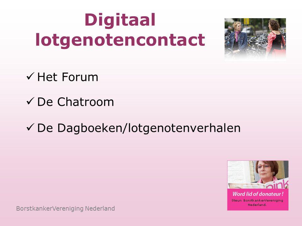 Het Forum BorstkankerVereniging Nederland