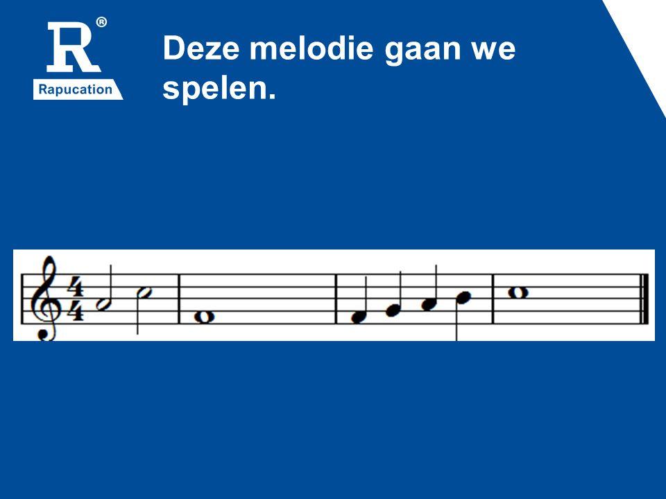 Speel de melodie op je iPad, klokkenspel of piano.