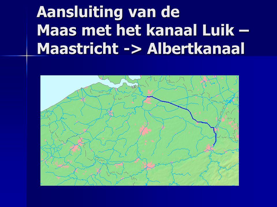 Aansluiting van de Maas met het kanaal Luik – Maastricht -> Albertkanaal