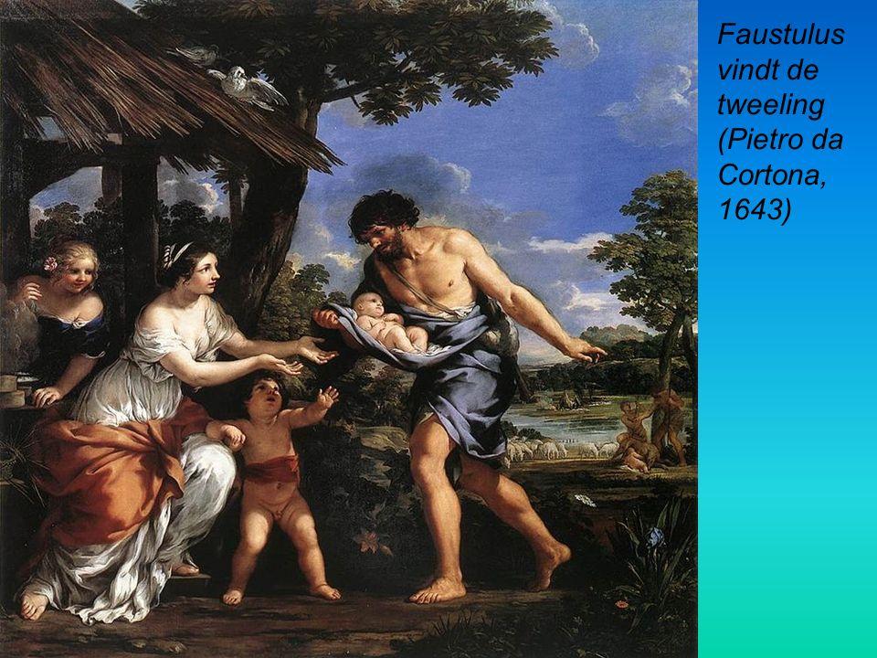 Faustulus vindt de tweeling (Pietro da Cortona, 1643)