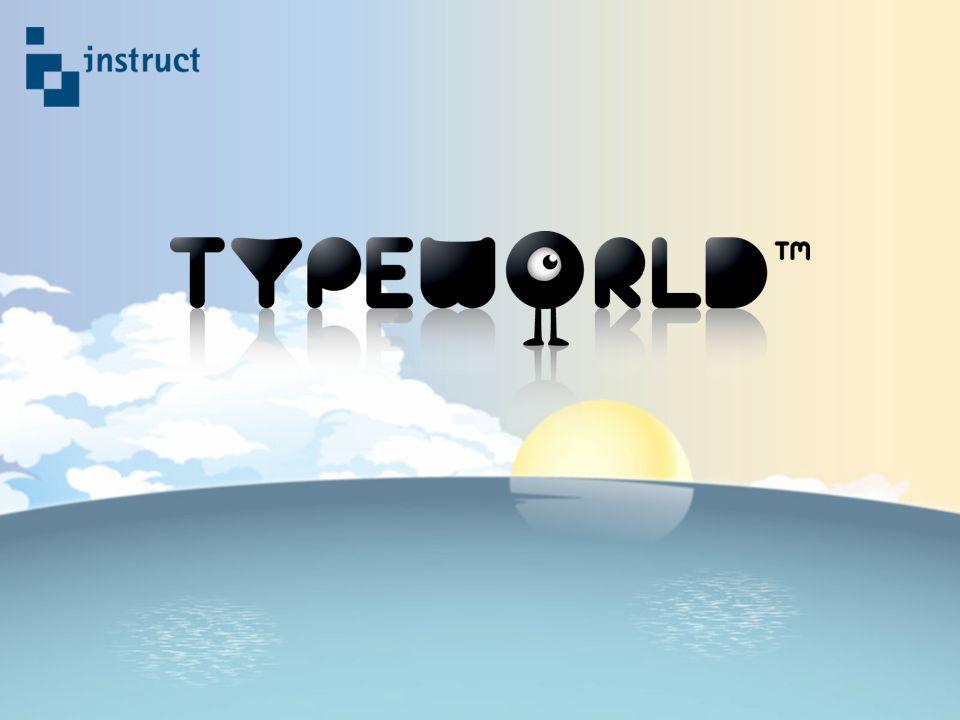 De actualiteit TypeWorld maakt leren typen leuk en makkelijk!