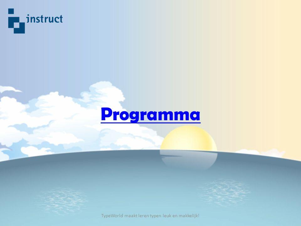 Programma TypeWorld maakt leren typen leuk en makkelijk!