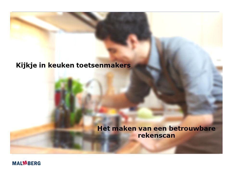 Kijkje in keuken toetsenmakers Het maken van een betrouwbare rekenscan