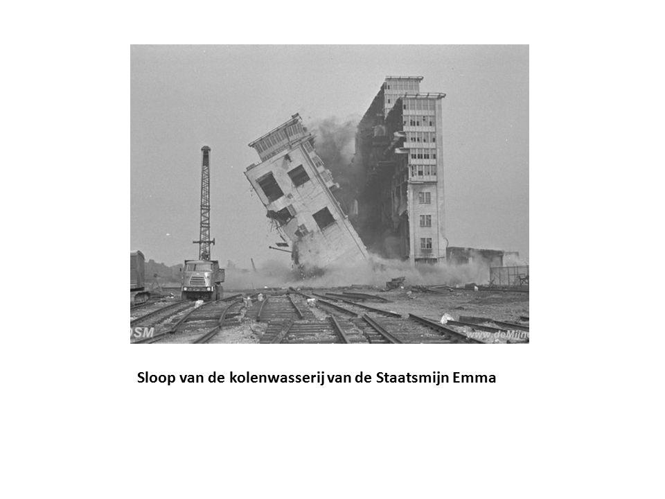 achtergrond: gewijzigde verhoudingen door sluiting mijnen (ultimo 1976) geen bijstorting in AMF door werkgevers mogelijk Opheffing NKMB 1970 en MIR 1976: geen pleitbezorger meer voor mijnwerkersbelangen steenkool geen onontbeerlijke grondstof meer ook andere bedrijfstakken in problemen kortom: de bijzondere positie van de mijnen voor Nederland kwam ten einde