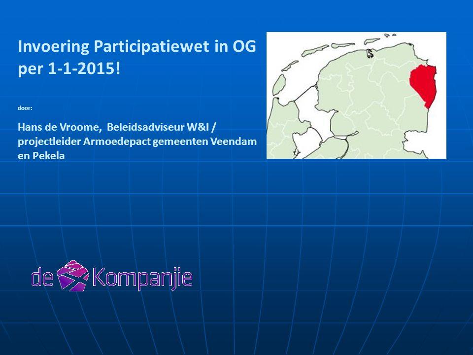 Invoering Participatiewet in OG per 1-1-2015.